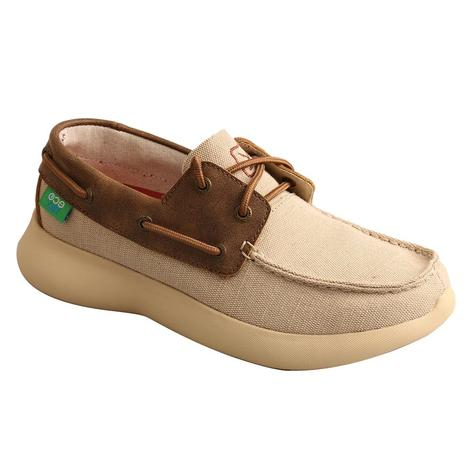 Twisted X Brown and Creme Women's Eco Tennis Shoe