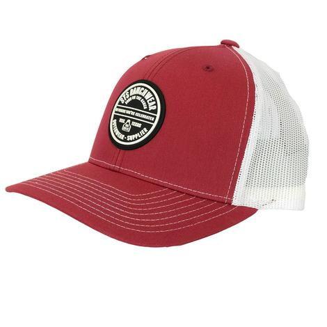 STS Ranchwear Patch Cap Cardinal Red