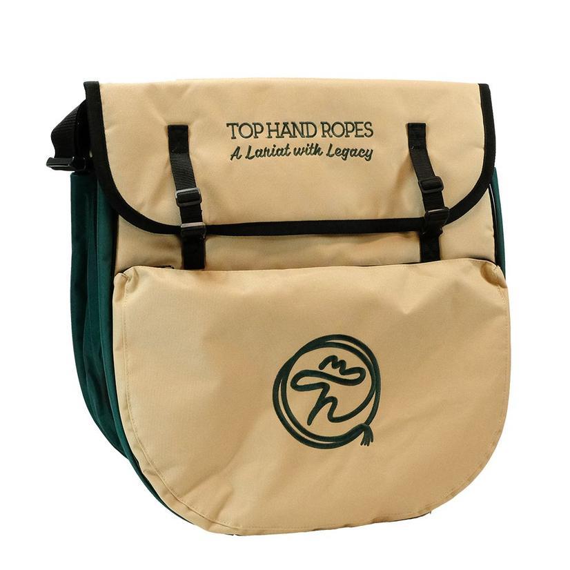 Top Hand Ropes Rope Bag Green Tan