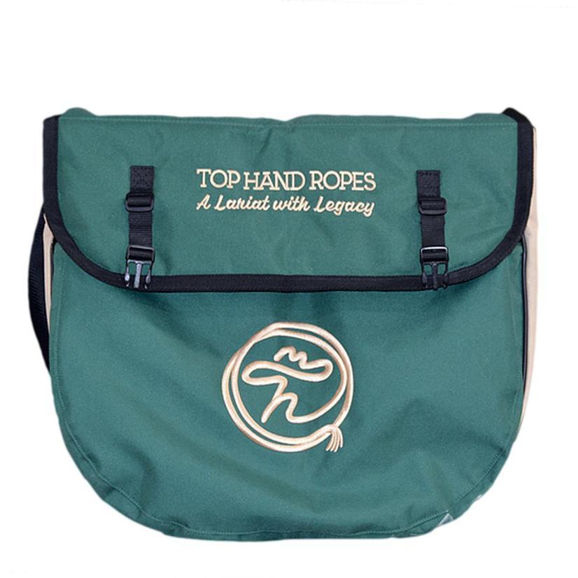 Top Hand Ropes Rope Bag Green Tan GREEN/TAN