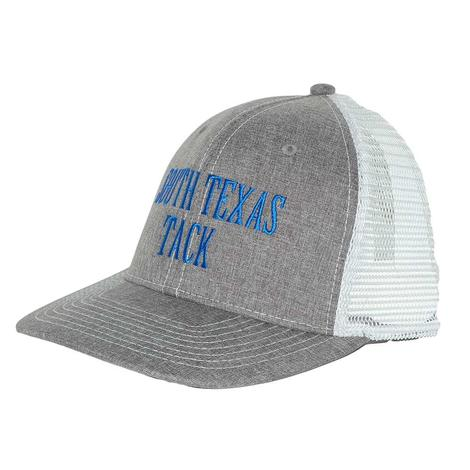 STT Heather Grey and White Meshback Cap