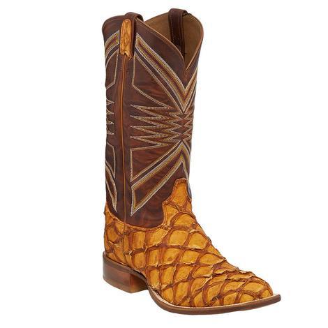 Tony Lama Cognac Leviathan Men's Boots