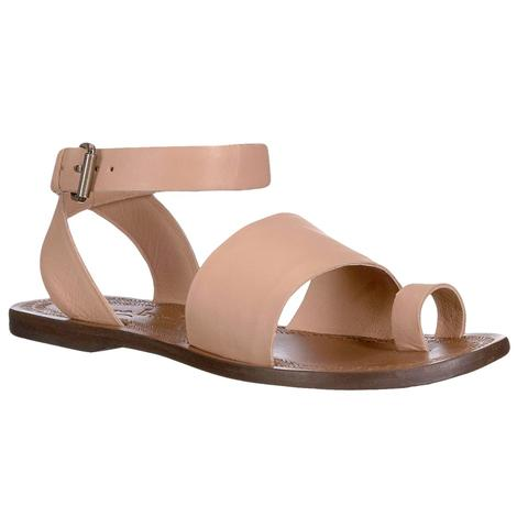Free People Torrence Flat Sandals in Rose