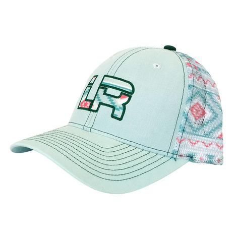 Let's Rope Mint Aztec Cap