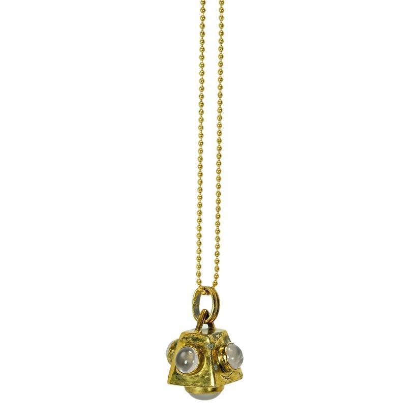 Cutchins Necklace In Rose Quartz