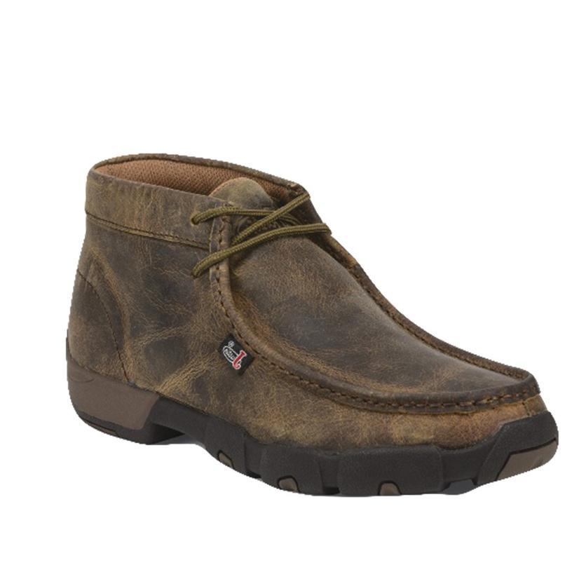Justin Cappie Dark Brown Casual Men's Shoe