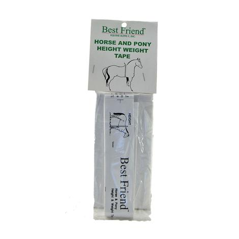 Intrepid International Best Friend Horse Height-Weight Tape