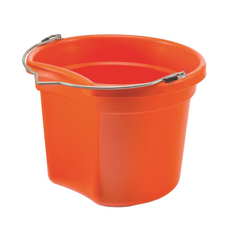 Small Economy Round Bucket 8 Qt. ORANGE