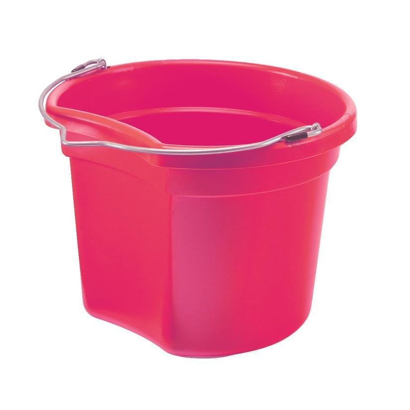 Small Economy Round Bucket 8 Qt. PINK