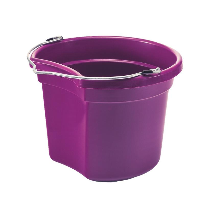 Small Economy Round Bucket 8 Qt. PURPLE