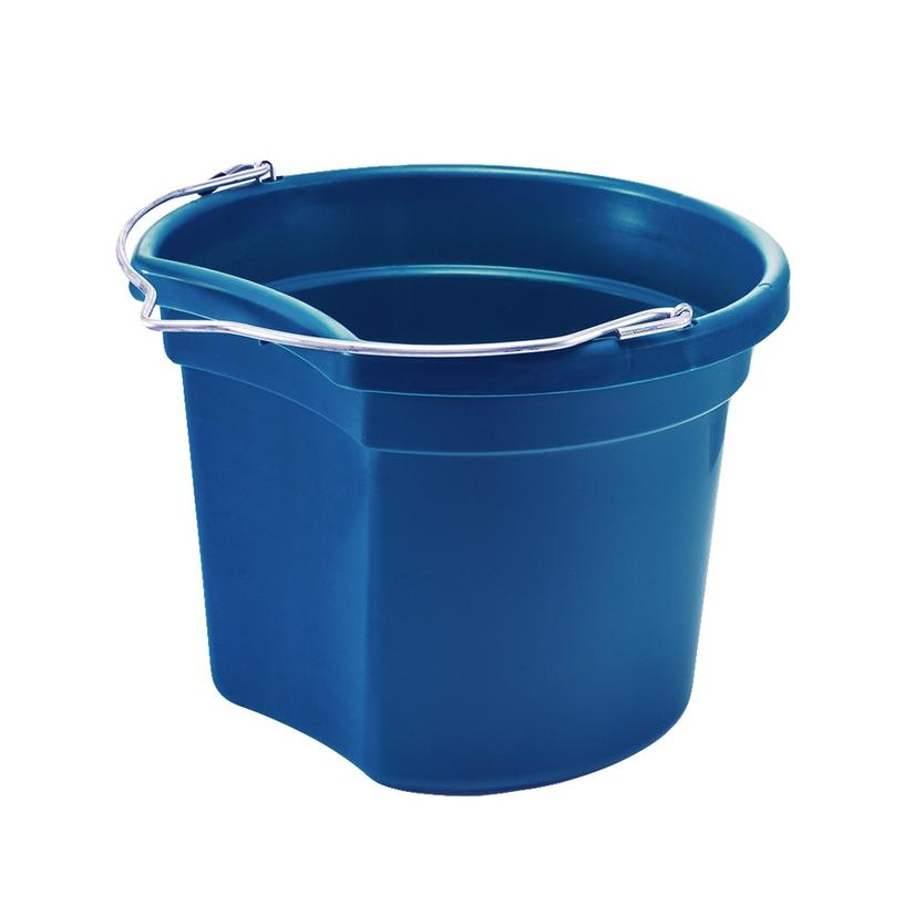 Small Economy Round Bucket 8 Qt. ROYAL_BLUE