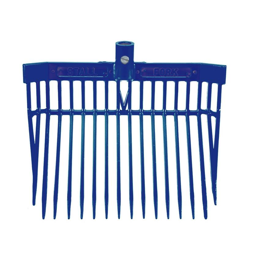 Angled Stall Fork - Complete Fork and Handle ROYAL_BLUE