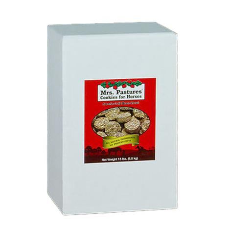 Mrs. Pastures Cookies Horse Treats 15 lb Refill Bag