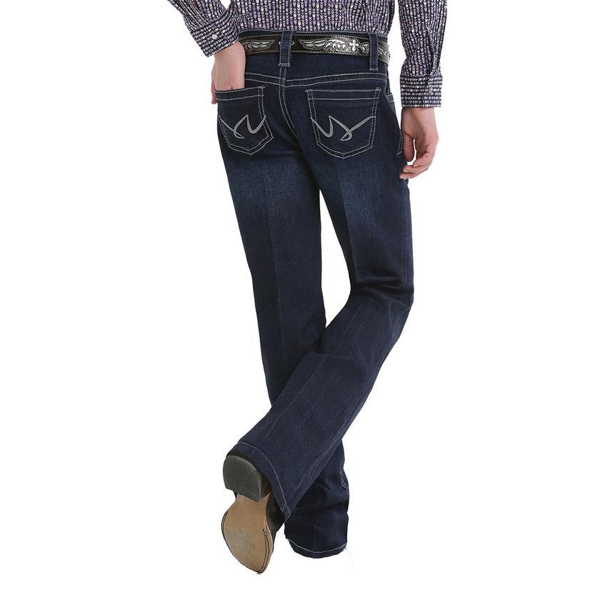 Cruel Girl Violet Slim Fit Dark Wash Trouser Girl's Jeans - Size 4- 6x