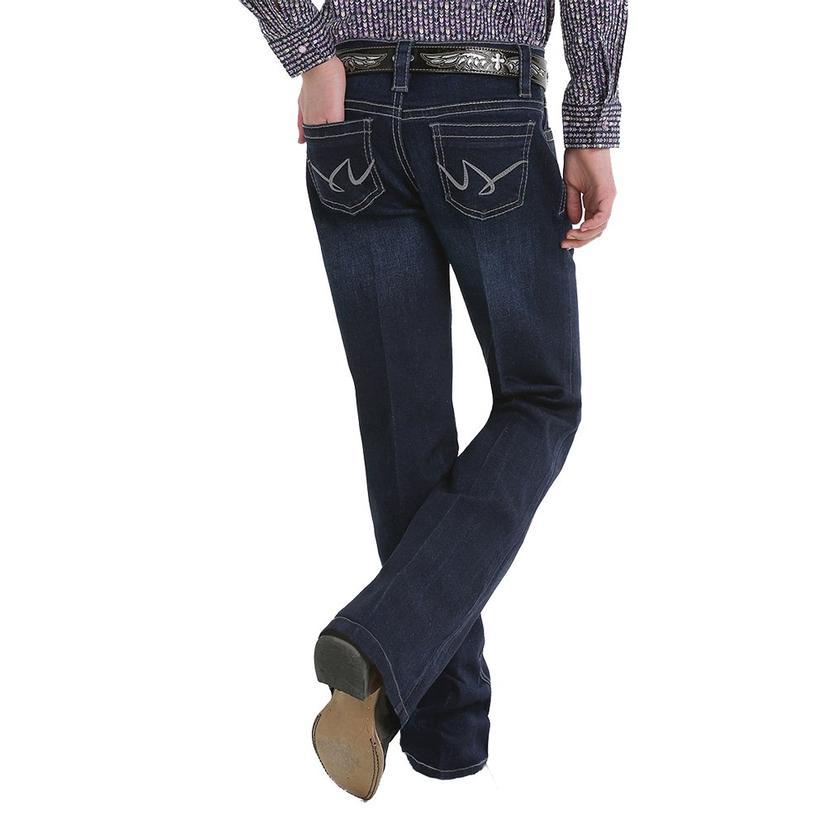 Cruel Girl Violet Slim Fit Dark Wash Girl's Trouser Jeans - Sizes 7- 16