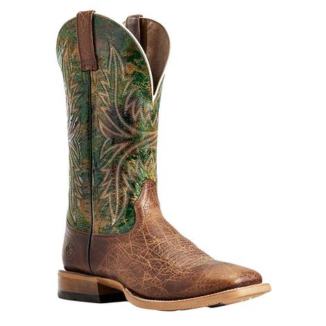 Ariat Cownhand Tobacco Green Men's Boots