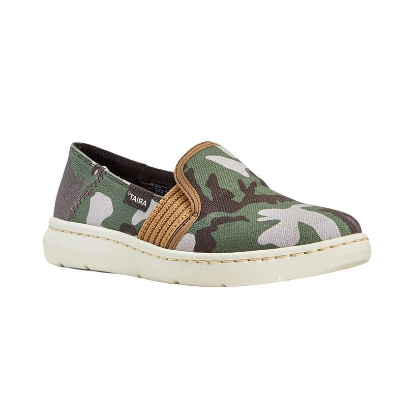 Ariat Camo Print Ryder Women's Slip On Shoes