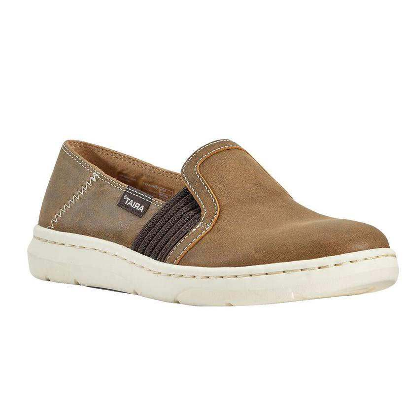 Ariat Brown Bomber Ryder Women's Slip On Shoes