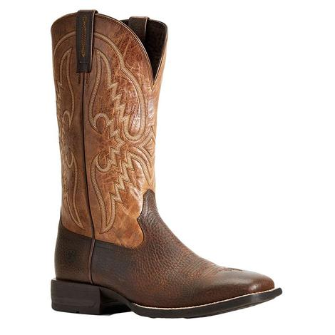 Ariat Round Pen Copper Tan Men's Boots