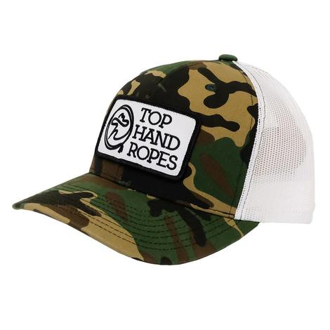 Top Hand Ropes Camo Patch Cap