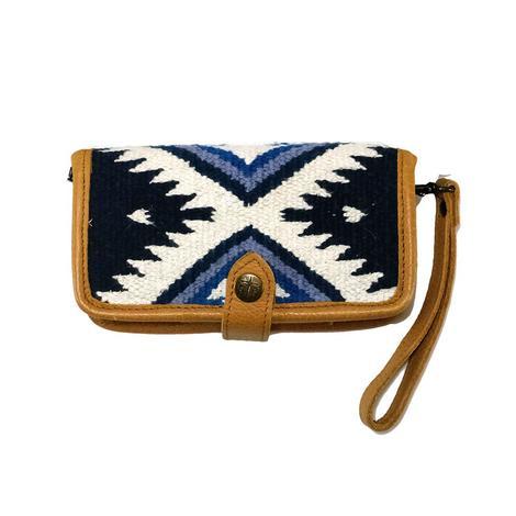 STS Ranchwear Blue Durango Serape Crossbody