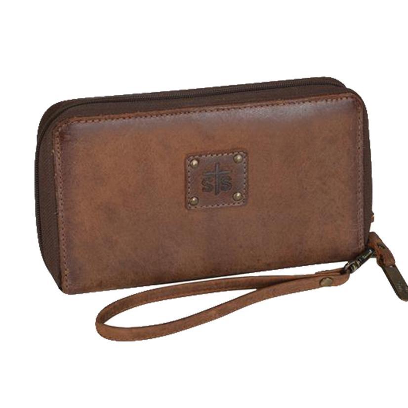 Sts Ranchwear Kacy Brown Leather Organizer