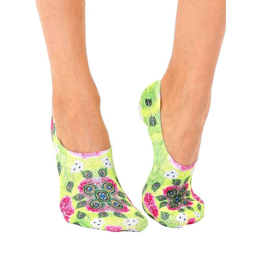 Peacock Liner Socks