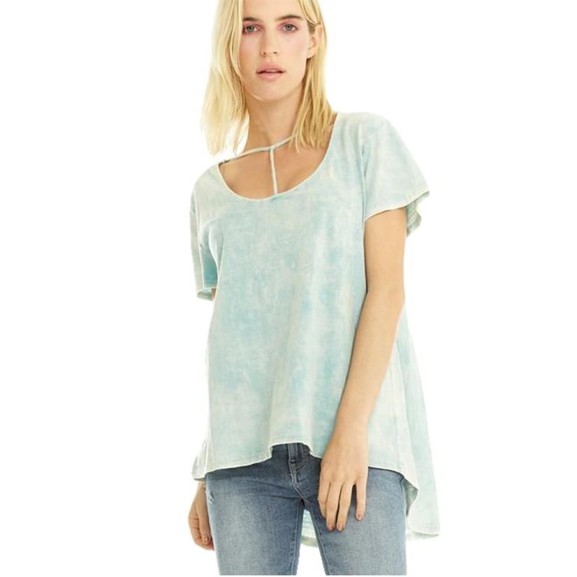 Dolley Washed Sky Women's Tee