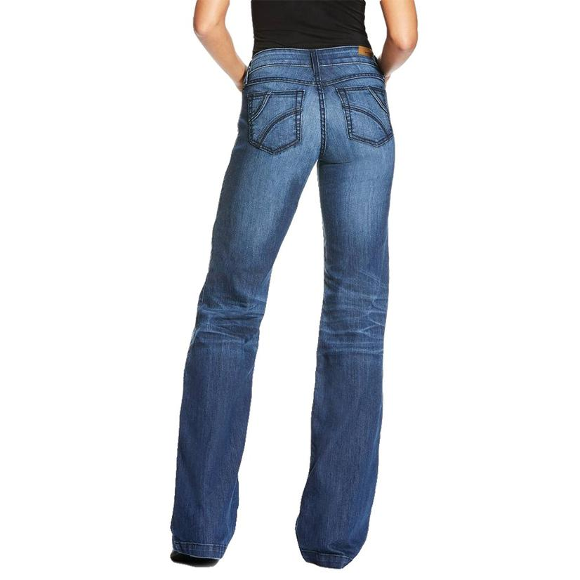 Ariat Trouser Half Moon Chill Blue Women's Jeans