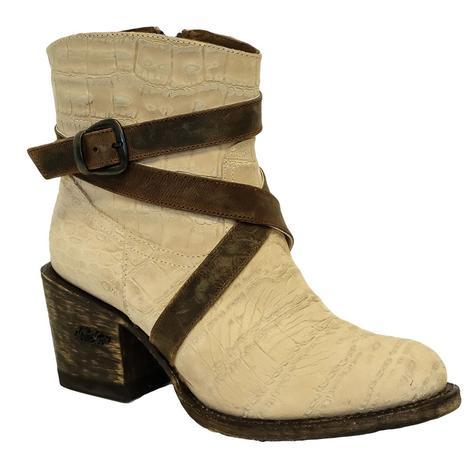 Miss Macie Sedona Buff Shortie Women's Boots