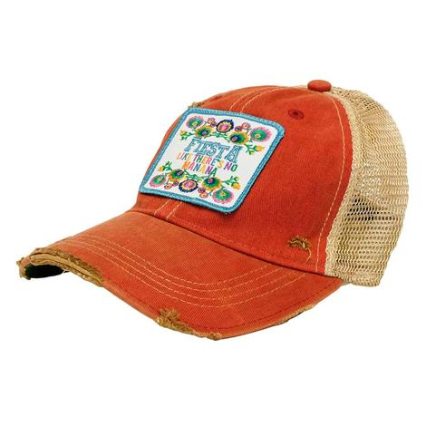 Fiesta Patch Orange Meshback Cap