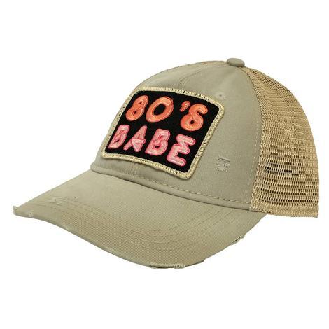 80's Babe Tan Meshback Cap