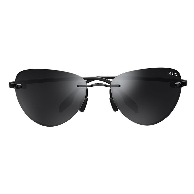 Praahr Black Grey Lens Bex Sunglasses