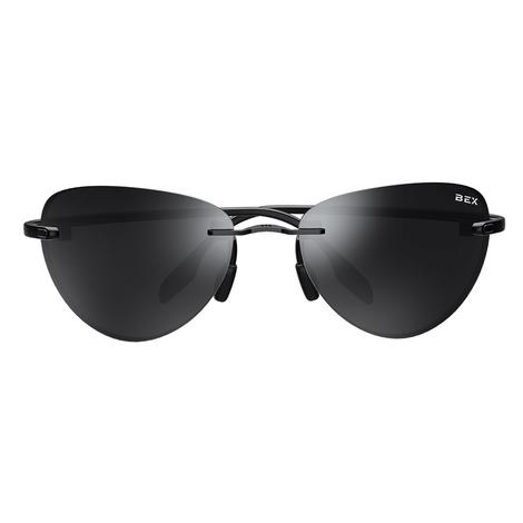 Praahr Black Grey Lens BEX Sunglasses