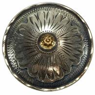 Wildrags Silver Sunflower Concho Scarf Slide