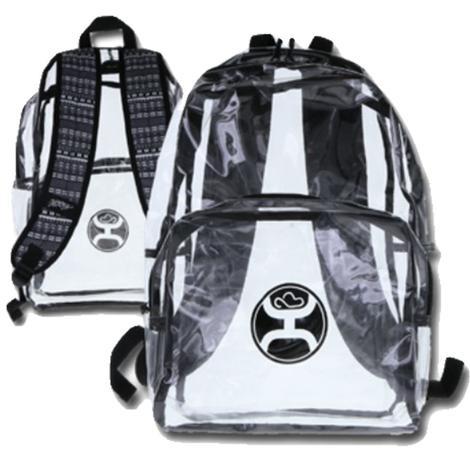 Hooey Nitro Clear and Black Backpack