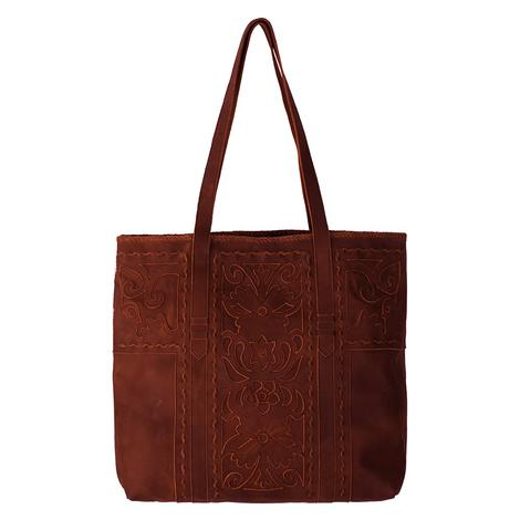 Lane Boots Robin Inlay Wine Tote