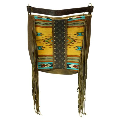 Keep It Gypsy Navajo Louis Vuitton Strip Yellow Rosie Tote