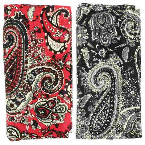 Wild Rags Silk Paisley Prints