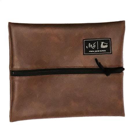 Makeup Junkie Gentleman Leather Junk Bag - Size Small