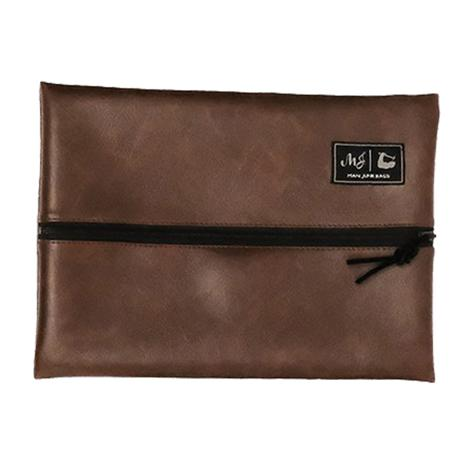 Makeup Junkie Gentleman Leather Junk Bag - Size Medium