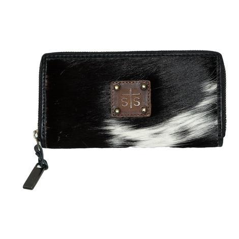 STS Ranchwear Cowhide Bifold Wallet