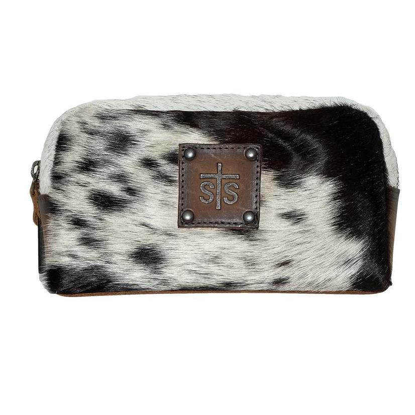 Sts Ranchwear Cowhide Cosmetic Bag
