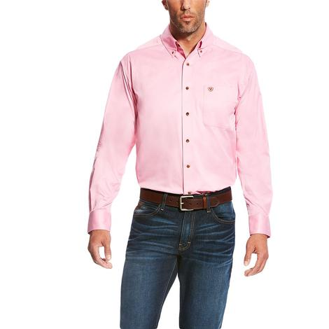 Ariat Prism Pink Long Sleeve Buttondown Men's Shirt