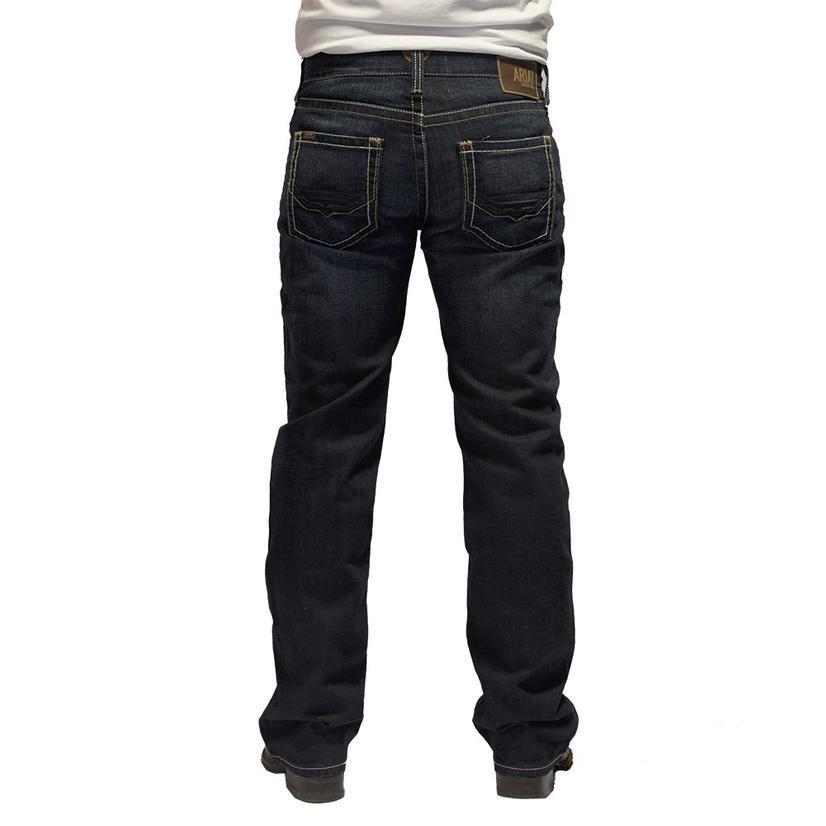 Ariat M5 Slim Straight Leg Dark Wash Men's Jeans