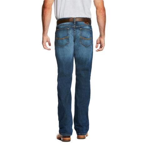 Ariat M4 Low Rise Boot Cut Freeman Wash Legacy Men's Jeans
