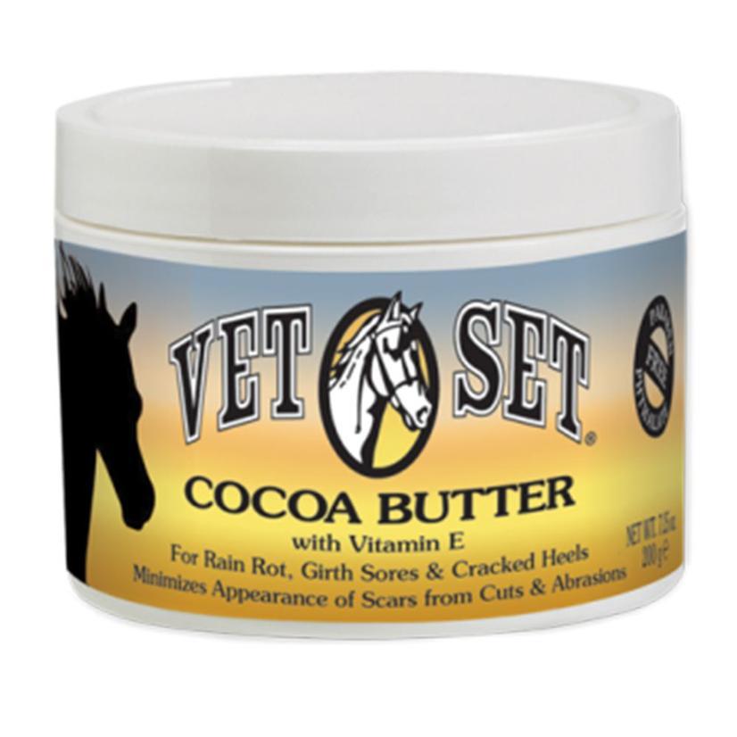 Vetset Cocoa Butter With Vitamin E