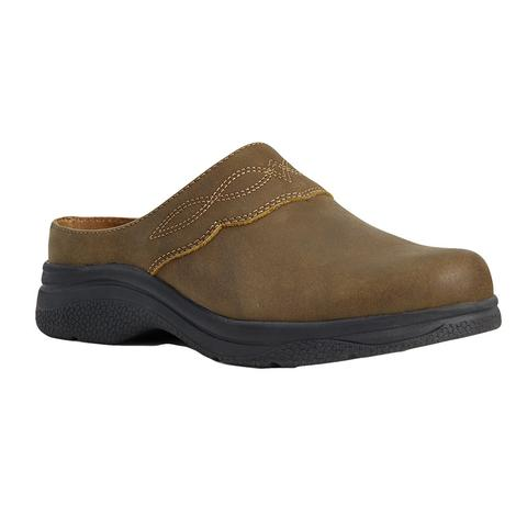 Ariat Brown Bomber Women's Mule Shoe