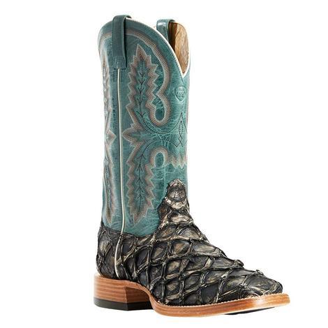 Ariat Slate Blue Big Bass Men's Boots