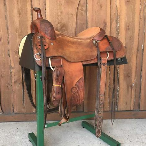 Tom Bouqet 16.25 Ranch Cutter Used Saddle